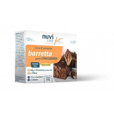 Barretta ciocolato ricca di proteine nuviline