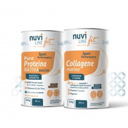 Promo pack duo sport collagene marino whey nativa nuviline