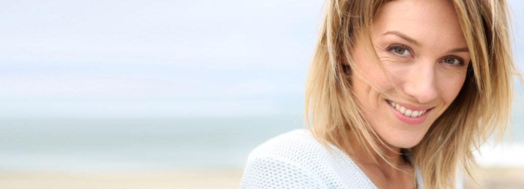 collagene marino pelle di donna