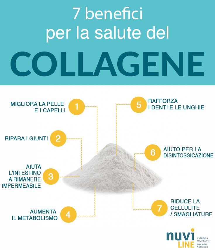 7 benefici per la salute del collagene
