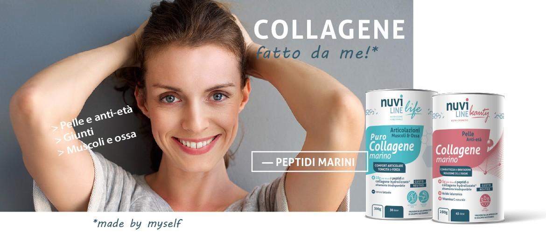 collagene marino idrolizzato peptidi pelle giunti muscoli ossa nuviline