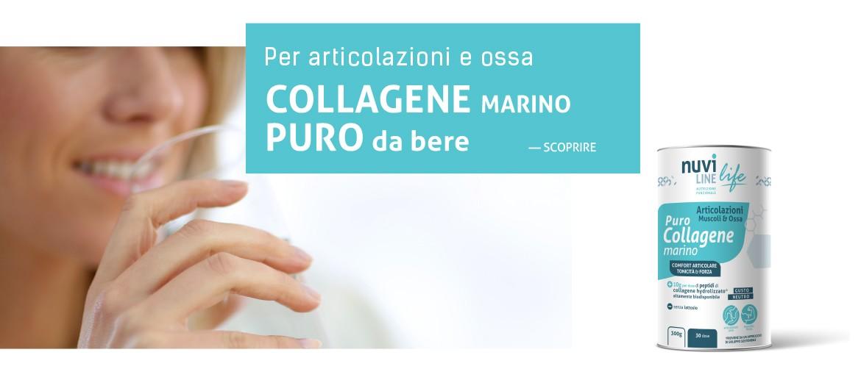 Collagene marino puro da bere per articolazioni e ossa